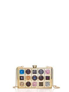Creme De La Chocolate Box Clutch Kate Spade New York