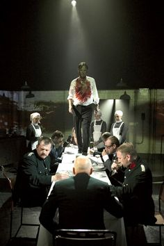 Oh, tis Banquo. Macbeth, with Patrick Stewart.