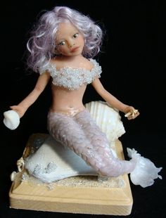 *POLYMER CLAY ~ Petal Fairy Collection by Michele Barrow-Belisle, via Behance