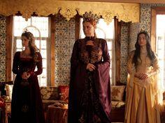 The Magnificent Century - Hürrem Sultan with Mihrimah Sultan and Nurbanu Sultan