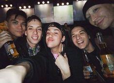 Manila Luzon, Alaska Thunderfuck, Adore Delano, Violet Chachki and friend