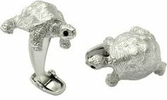 Turtle Cufflinks by Cuff-Daddy Cuff-Daddy. $39.99. Made by SAFARI. Arrives in hard-sided, presentation box suitable for gifting.