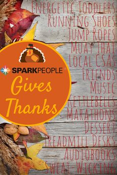 SparkPeople Gives Thanks. What are SparkPeople staff members thankful for this holiday season? | via @SparkPeople