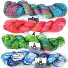 Schoppel Cat Print 6 Karat- Edel und weich in traumhaften Färbungen..... Luxus zum verstricken