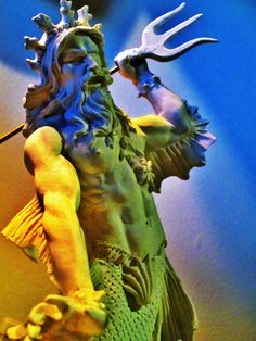 Poseidón - Divinidad Marítima Griega.