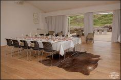 Iceland Wedding Reception Setup