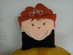 Handmade Celebrity Audrey Hepburn Fan Art Plush Pillow | #british #actress #fashion #film #cinema #hollywood #legend #belgium #england #amsterdam #switzerland #sabrina #myfairlady #breakfastattiffanys #unicef | $29.95 | http://www.rbitencourtusa.com/#!product/prd1/2656879251/handmade-celebrity-audrey-hepburn-pillow