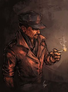 some quick colored sketches of MacCready Maccready Fallout, Fallout 4 Companions, Vault 111, Mike Deodato, Post Apocalypse, The Masterpiece, Best Dad, Character Art, Video Games