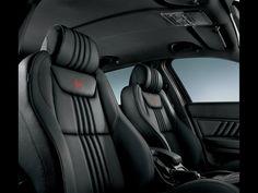 2008 Alfa Romeo Unique Alfa Customization Program - Black Seats. Image: Fiat
