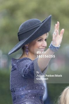 10-5-13.   News Photo: Queen Maxima of the Netherlands attends the wedding…