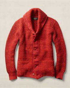 Cotton-Wool Shawl Cardigan - RRL Cardigan & Full-Zip - RalphLauren.com