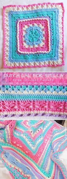 Crochet Along Throw Free Crochet Pattern #crochetafghanpatternsfree