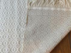 kitchen or bathroom rug woven in cotton 2 feet x 3 feet