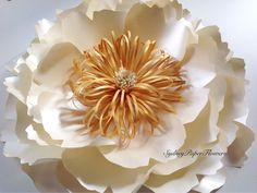A personal favourite from my Etsy shop https://www.etsy.com/au/listing/240689172/luxury-peony-flower-large-with-double
