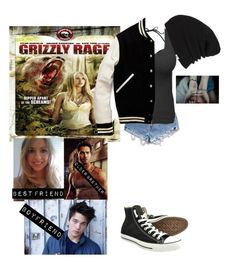 """Me in 'Grizzly Rage'"" by j-j-fandoms ❤ liked on Polyvore featuring Levi's, J.Crew, Converse, Vans and Brooks Brothers"