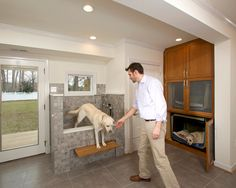 Go bigger with the drain longo recommends using a 3 inch drain in a i have wanted a dog washing area for a very long time this one looks like a doggy spa entry by four brothers llc solutioingenieria Gallery