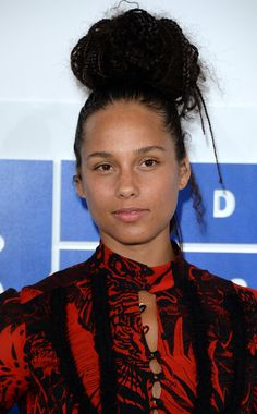 This Girl is on Fire! Alicia Keys zeigte sich ohne Make-up bei den VMAs.