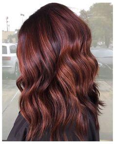 Light Auburn Hair Color, Brown Auburn Hair, Red Brown Hair Color, Fall Auburn Hair, Auburn Hair Balayage, Deep Brown Hair, Auburn Hair Colors, Brown Hair Dyed Red, Reddish Hair Color