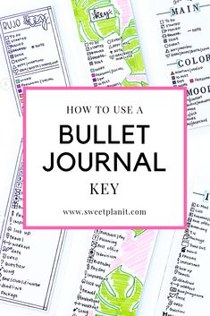 How to Use a Bullet Journal Key - an all inclusive guide and how to videos Bullet Journal Legend, Bullet Journal Index, Bullet Journal September, Bullet Journal Contents, Creating A Bullet Journal, Bullet Journal School, Bullet Journal Themes, Bullet Journal Layout, Bullet Journal Inspiration