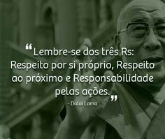 Lembre-se do 3 Rs