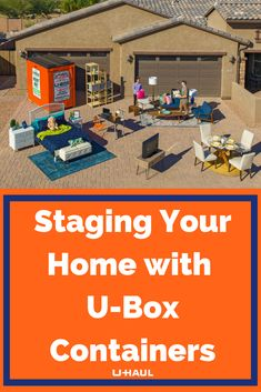 Are you staging your home to sell? Learn how U-Box containers can help make this process easier! Moving Containers, Wardrobe Boxes, Getting Rid Of Clutter, Moving Boxes, Moving And Storage, Moving Tips, Selling Your House, Organizing Your Home, Home Staging