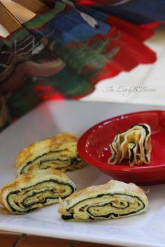 easy Japanese flavored omelet