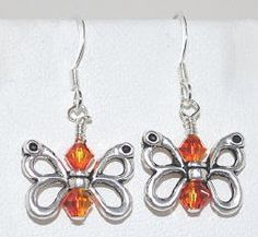 Make these cute butterfly earrings. Look for project #64 on the Idea Page.
