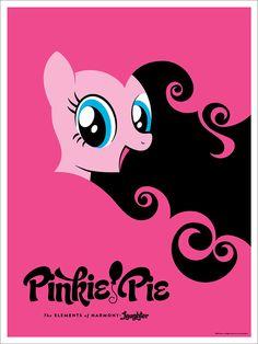 Acidfree Gallery LLC - Pinkie Pie by Michael De Pippo, $40.00 (http://www.acidfreegallery.com/pinkie-pie-by-michael-de-pippo/)