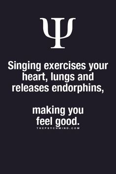 So i'm going to play karaoke more often. I always make me feel good