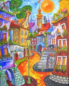 Painting by Tatyana Murova/ www.artterra.com SOLD