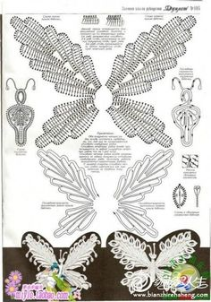 butterfly free diagram