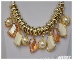 Collar de perlas y piedras | Complementos del SurComplementos del Sur