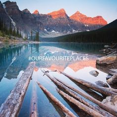 Welcome to a new week! Monday mornings call for an picture. Bartlett took this amazing sunrise shot at AB. Tag your pics from this weekend with and they could be featured on our feed! Morning Call, Moraine Lake, New Week, Sunrise, Sky, Explore, World, Mornings, Amazing