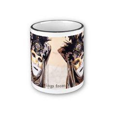 Ladies in Venice Carnival Mug by SimonaMereuArt $16.90