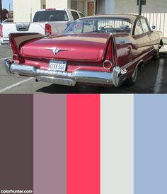 1957 Plymouth Savoy V8 Sport Coupe '6tkk346' 2 Color Scheme