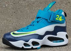 Nike Air Max Griffey 1 GS | Midnight Navy & Neo Turquoise