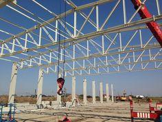 Hala Productie - Prolyte Industry | duna-steel.ro Louvre, Fair Grounds, Industrial, Steel, Building, Travel, Dune, Viajes, Buildings