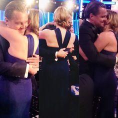 Leo & Kate #GoldenGlobes2016