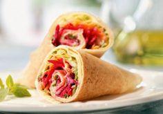 Temos mais duas receitas de Lanches saudáveis para comer no trabalho: um Wrap e um sanduba facelérrimos e deliciosos. Se liga, mobem: