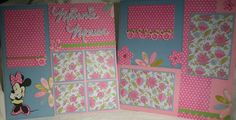 Minnie Mouse Disney Layout by princessSyrena - Cards and Paper Crafts at Splitcoaststampers