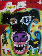 TO THRIVE Poete Maudit, CANADIAN ARTIST Outsider Art Street Naive RAW