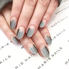 New #matte nail art from MARIE NAILS LA location! Give us a call to make an appointment: 3RD +1(310)5505925MELROSE +1(323)7828080K-Town +1(213)3883227 #marienails #gel #gelnails #gelmanicure #nails #nailart #nailstagram #mattenails #graynails #mattegrey #greynails #darknails #calgelnails #japanesenailart #japanesenail #japanesenailsalon #マリーネイルズ #ネイル #ネイルデザイン #ネイルアート #ジェルネイル #ジェル