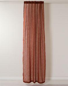LINDA gardin tegelröd Decor, Interior, Home, Shopping, Curtains