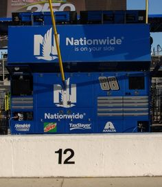2016 Sprint Cup Series pit boxes Wednesday, March 9, 2016 No. 88 Dale Earnhardt Jr.