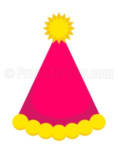 printable birthday hat