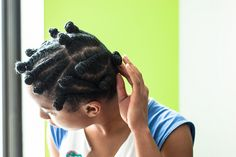 How I Use Flat Twists and Bantu Knots to Style My Natural Hair // The Feisty House