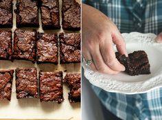 Vegan Salted Caramel Brownies