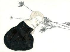 Illustrations | B/N by Daniela Tieni, via Behance