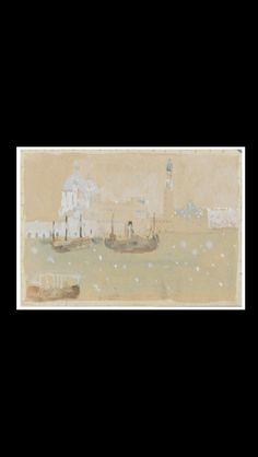 """.. Zoran Music - """" Venezia """", 1948 - Acquarello su carta - 24,2 x 34 cm"""