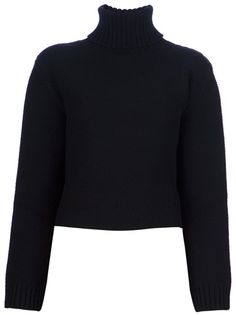 STELLA MCCARTNEY - Cropped boxy sweater 1